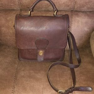 Vintage Coach Willis station crossbody  #L4C-5130